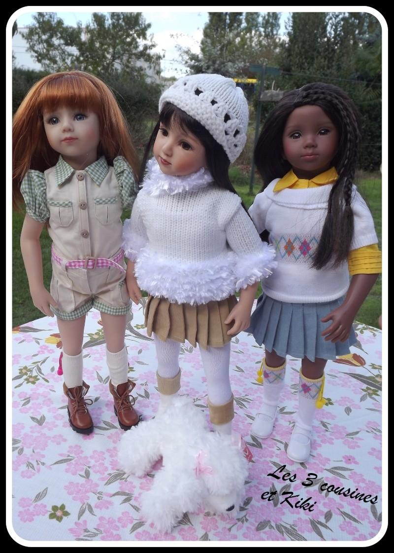 mes nouvelles poupées  Cousin11