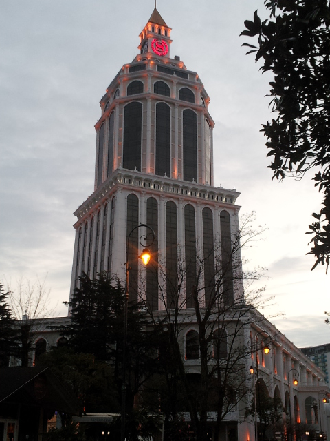 GEORGIA PASSAGE DE NOTRE 12ème FRONTIERE LE 27.01.2014 20140219