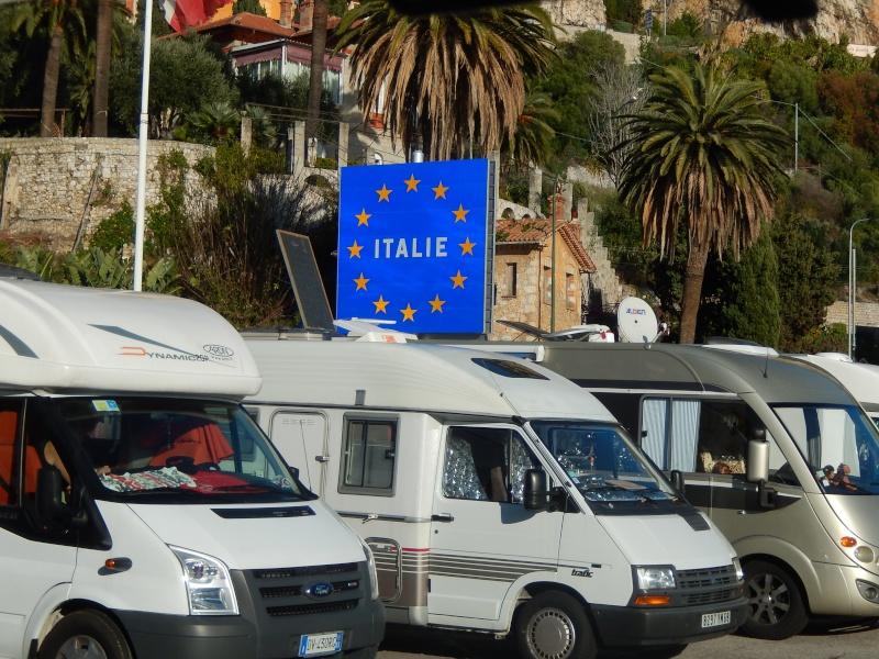 Passage de la frontière Franco-italienne le 31.12.2013. Dscn2210