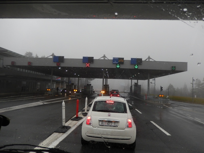 Passage de la frontière Italano-slovano-croate le 04.01.2014. Dscn2312