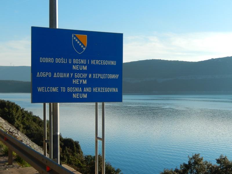 12.01.2014 Passage de notre 6ème frontière, Mostar Dscn2713