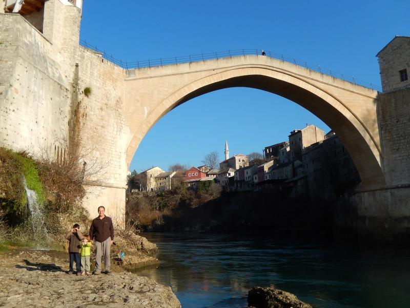 12.01.2014 Passage de notre 6ème frontière, Mostar Dscn2715
