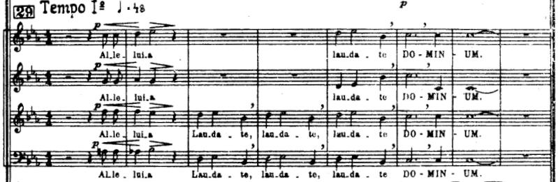 Stravinsky - Symphony of Psalms (Symphonie de Psaumes) 212