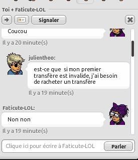 [Transfère de grade]Pour devenir Brigadier-Chef #Julien Transf11