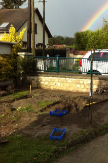 Mon jeune jardin a Auvers beach Image410