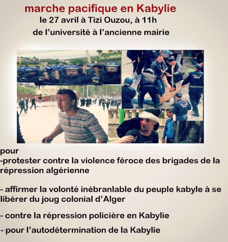 Le MAK appelle à une marche le 27 avril 2014 contre la répression 1182