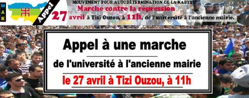 Le MAK appelle à une marche le 27 avril 2014 contre la répression 1187
