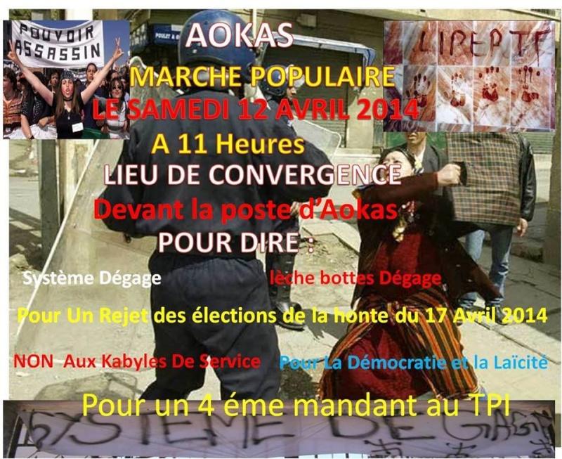 Marche contre le système à Aokas . 14888210