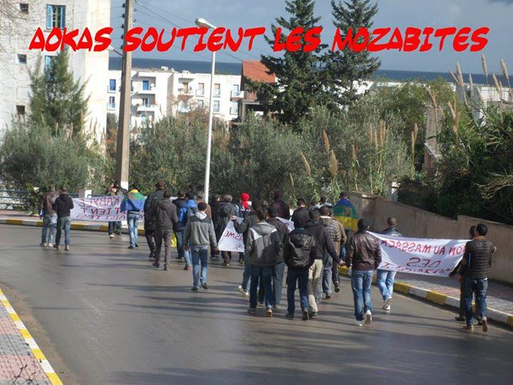 Rassemblement de solidarité avec les mozabites à Aokas le mardi 11 fevrier 2014 (1) Mzab17
