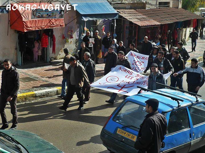 Rassemblement de solidarité avec les mozabites à Aokas le mardi 11 fevrier 2014 (1) Mzab18