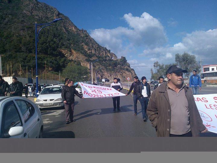 Rassemblement de solidarité avec les mozabites à Aokas le mardi 11 fevrier 2014 (13) Mzab33