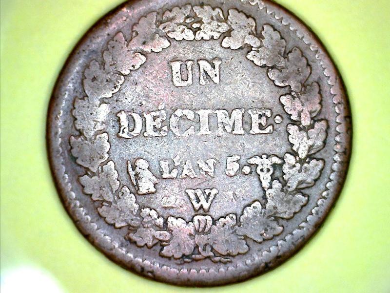 Un décime Dupré AN 5 W Still023
