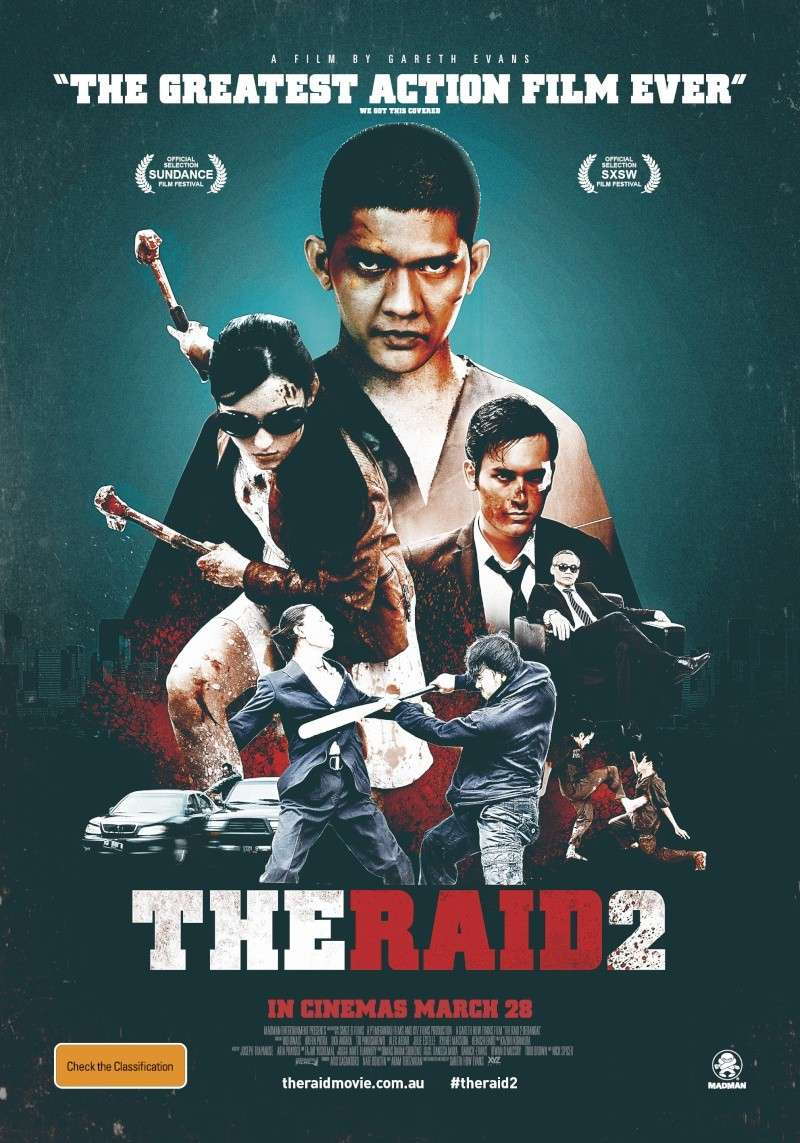 The Raid: berandal (2013,Gareth Evans) Poster10