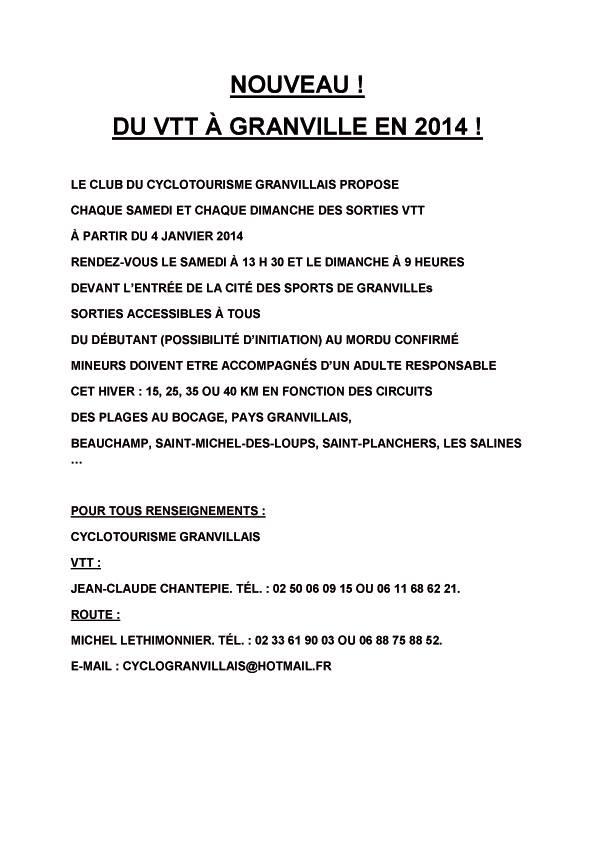 Cyclotourisme Granvillais Cyclo10
