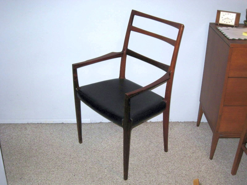 Please help identify the model of this rosewood chair (Niels Otto Møller)? Img_2414