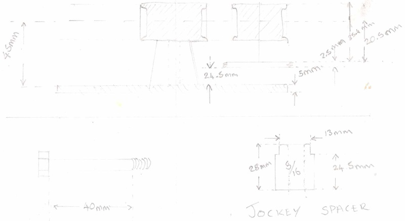 How to install a PTO rear drive on your tractor Drawin10
