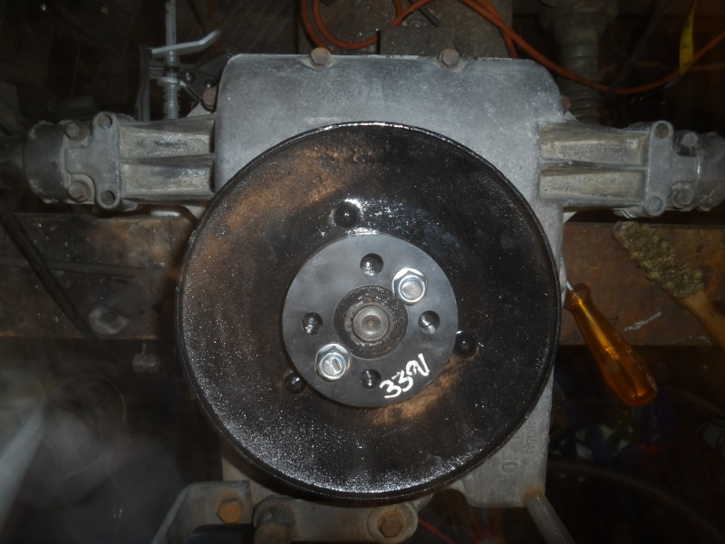 How to install a PTO rear drive on your tractor Sam_4510
