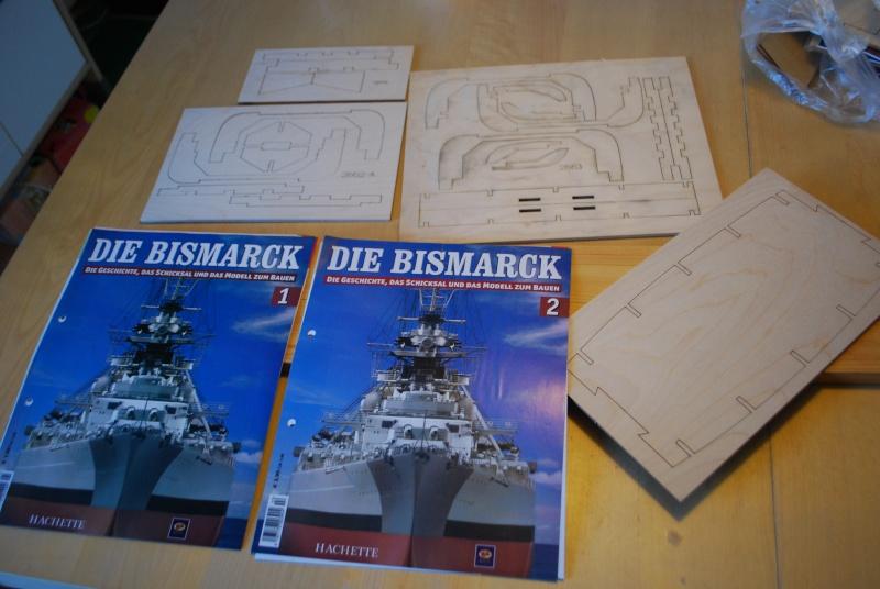 Darwins Beagle´s Baubericht der Bismarck von Hachette Dsc_1461