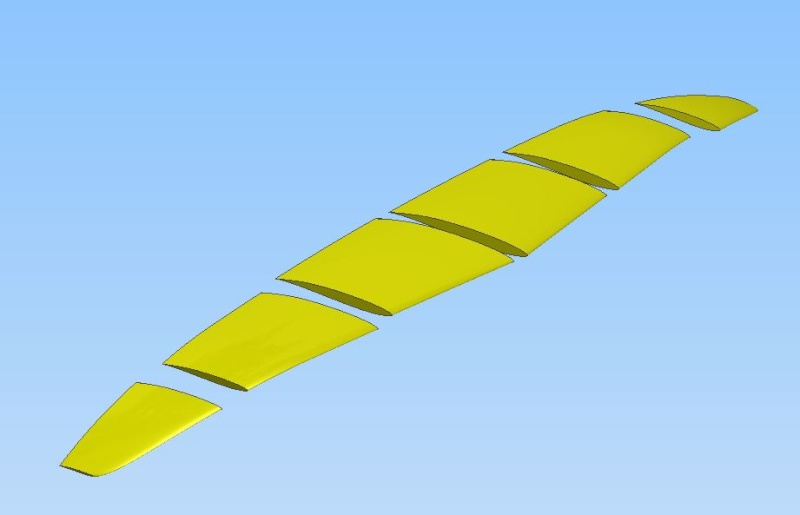Wing manufacture off 3D print plastic Wing_e12