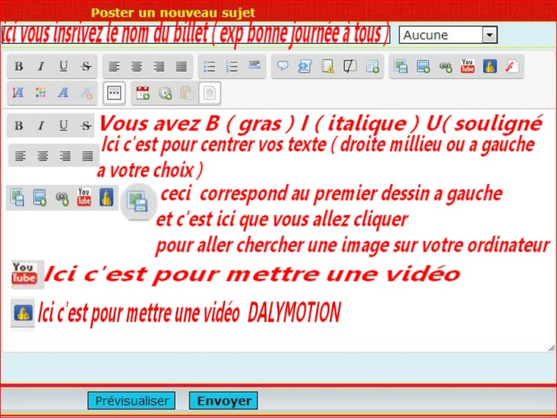 << FLASH INFO >>   EXPLICATIONS POUR DEPOSER UN BILLET , UNE IMAGE OU UNE VIDEO    Captur16
