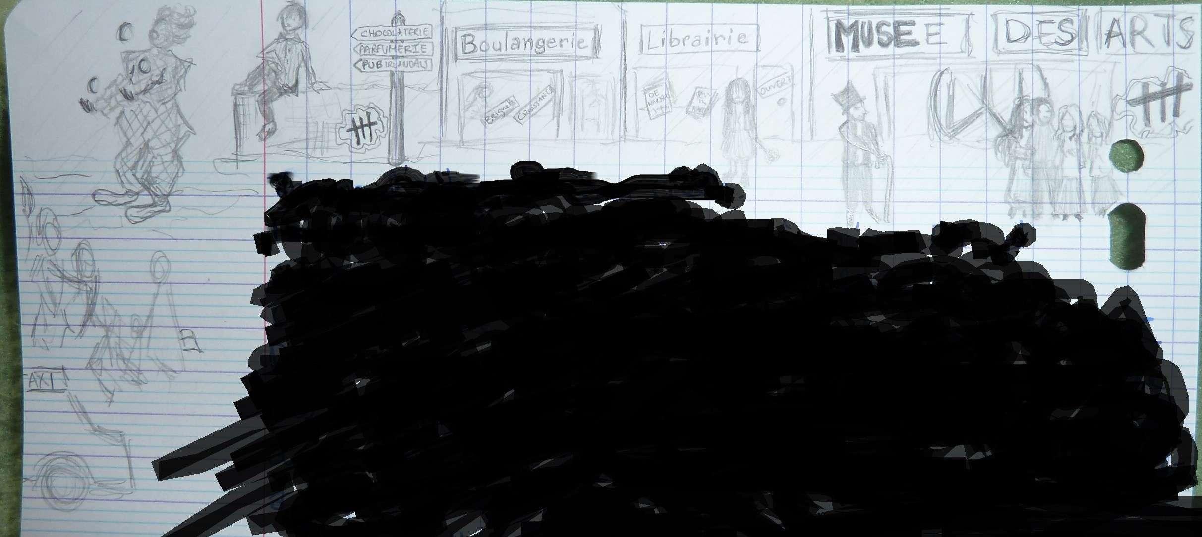Un dessin pour un post, une émission présentée par John Doeuf. Dessin10