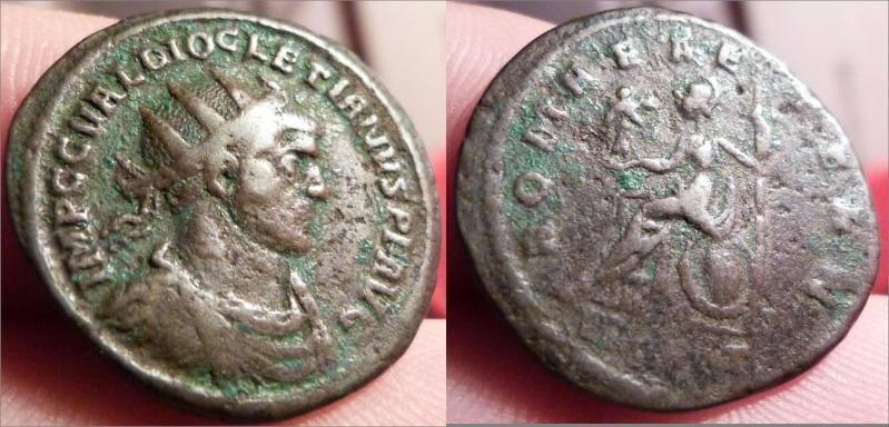 aurelianus de Dioclétien pour Ticinium Diocle10