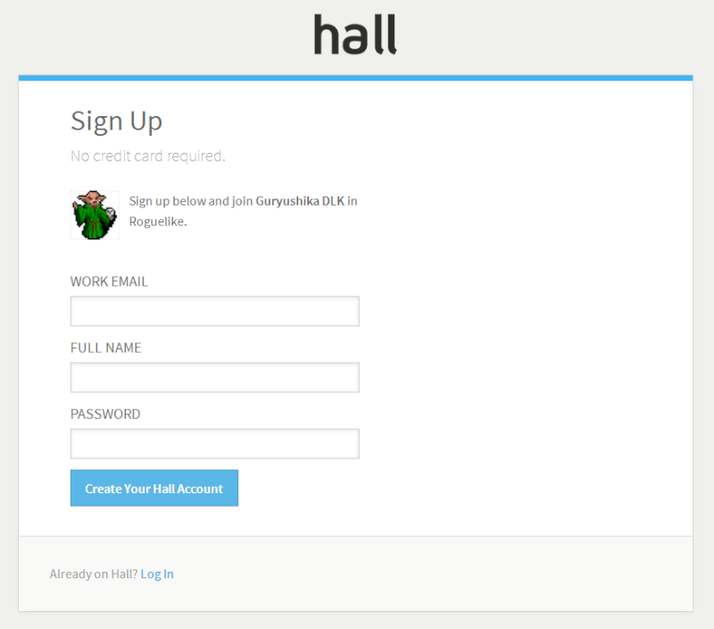 Se connecter à Hall pour chater Hall_s10