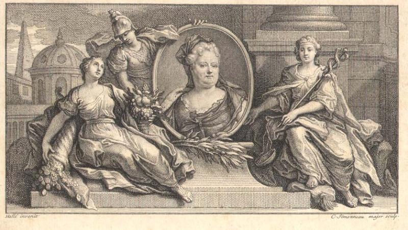 La Palatine arrière grand-mère de Marie-Antoinette 1713_d10