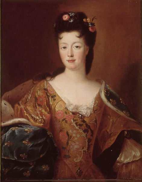 Élisabeth-Charlotte d'Orléans (Mlle de Chartres), grand-mère paternelle de Marie-Antoinette 471px-10