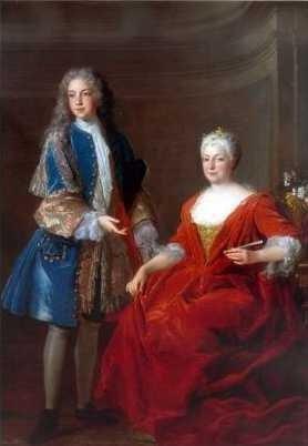 Élisabeth-Charlotte d'Orléans (Mlle de Chartres), grand-mère paternelle de Marie-Antoinette Alisab10