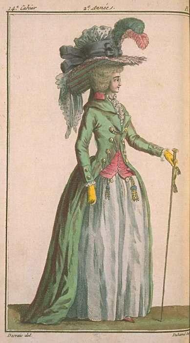 La mode et les vêtements au XVIIIe siècle  - Page 2 E2bc0c10