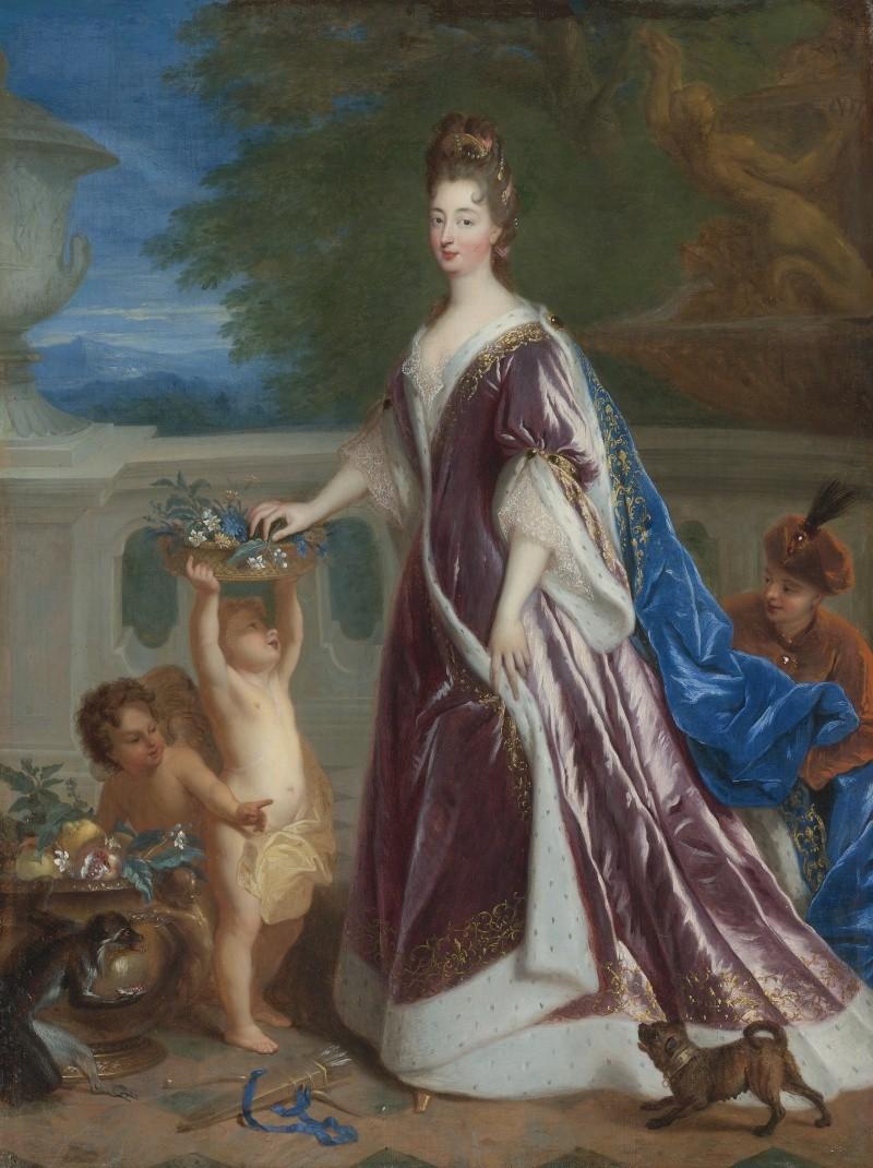 Élisabeth-Charlotte d'Orléans (Mlle de Chartres), grand-mère paternelle de Marie-Antoinette Elisab12