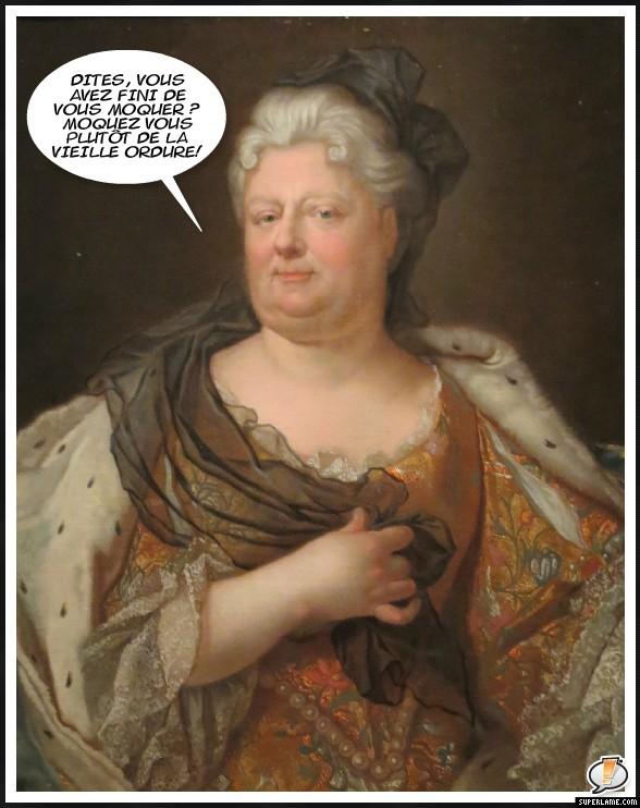 La Palatine arrière grand-mère de Marie-Antoinette Mysupe12