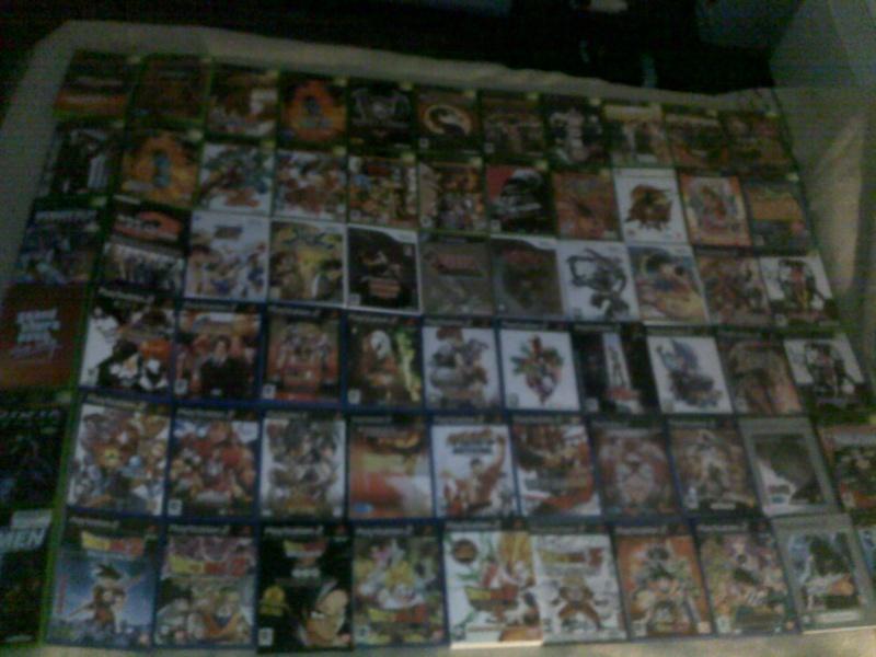 Photo de vos  jeu console de collection  27012013