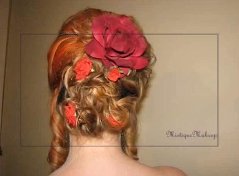 [XVIII] Tuto coiffure inspirée Marie Antoinette Sans_t12