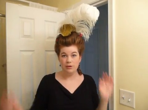 [XVIII] Tuto coiffure inspirée Marie Antoinette Sans_t13