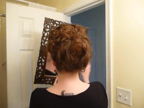 [XVIII] Tuto coiffure inspirée Marie Antoinette Sans_t14