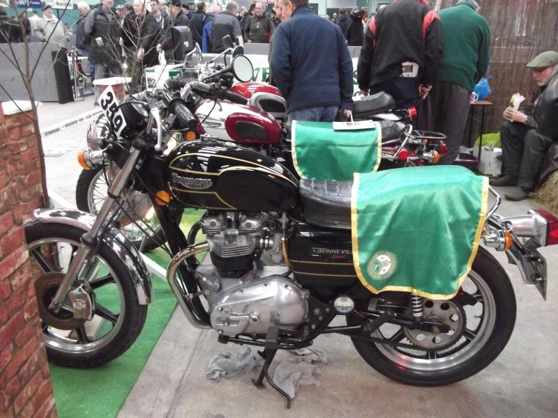 Bristol Classic Bike Show feb 2014 (triumphs) Bristo29