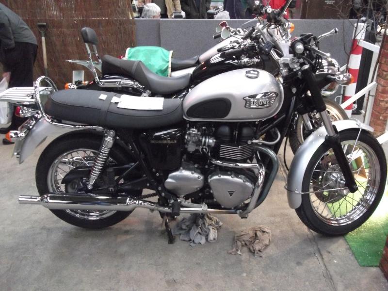 Bristol Classic Bike Show feb 2014 (triumphs) Bristo30