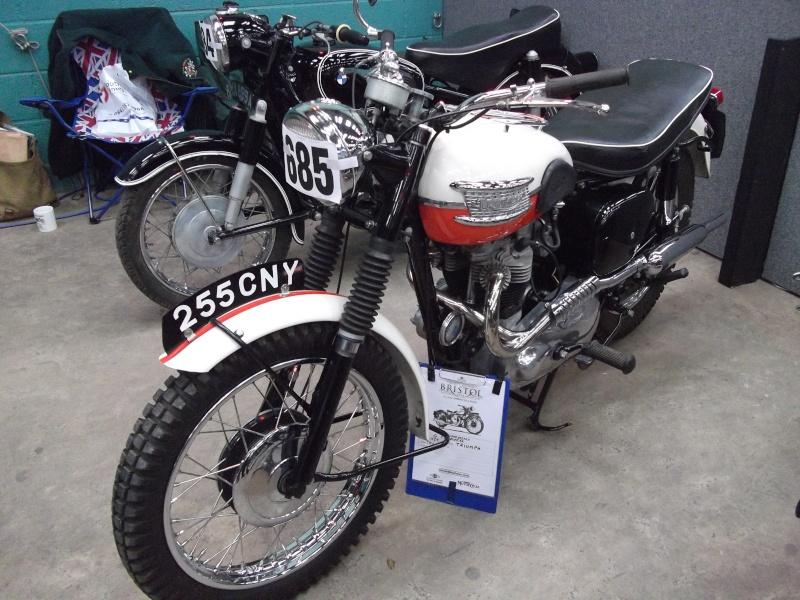 Bristol Classic Bike Show feb 2014 (triumphs) Bristo31