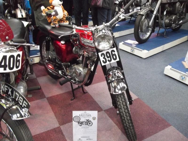 Bristol Classic Bike Show feb 2014 (triumphs) Bristo33