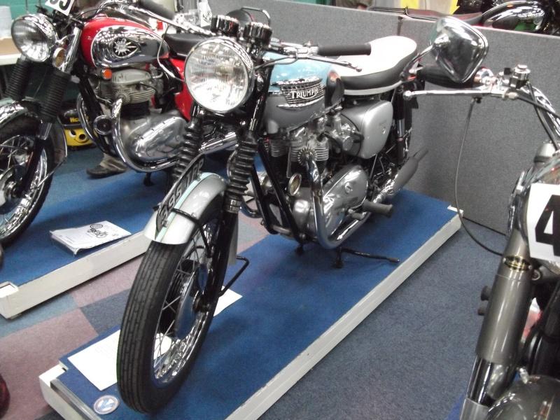 Bristol Classic Bike Show feb 2014 (triumphs) Bristo34