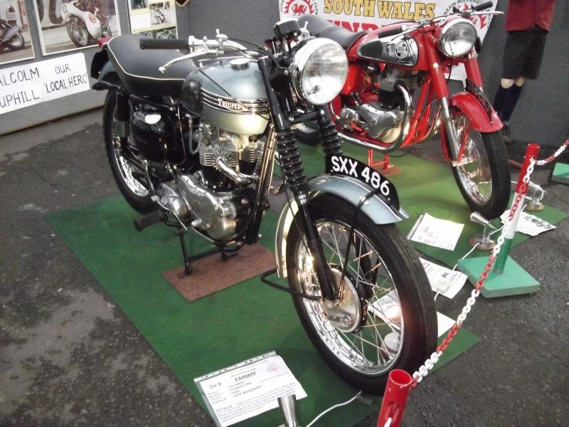 Bristol Classic Bike Show feb 2014 (triumphs) Bristo35