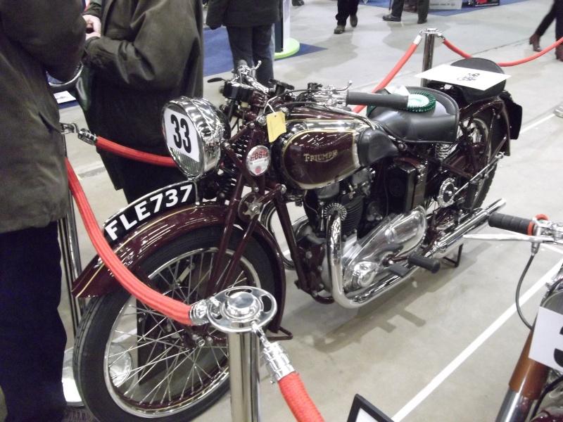 Bristol Classic Bike Show feb 2014 (triumphs) Bristo39