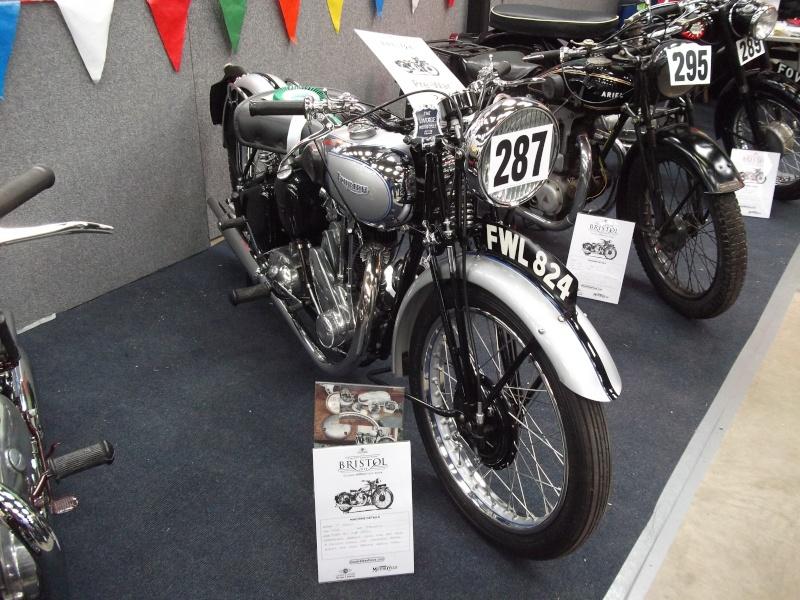 Bristol Classic Bike Show feb 2014 (triumphs) Bristo40