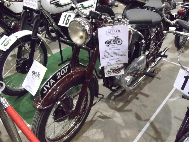 Bristol Classic Bike Show feb 2014 (triumphs) Bristo41