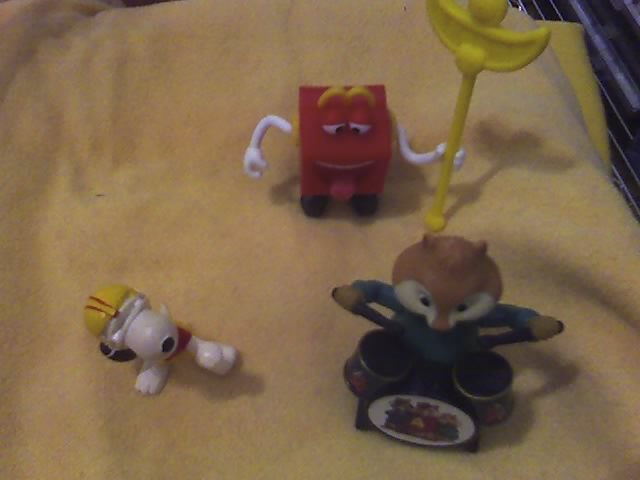 Lotto Snoopy - Alvin Superstar - McDonald's 02-12-13