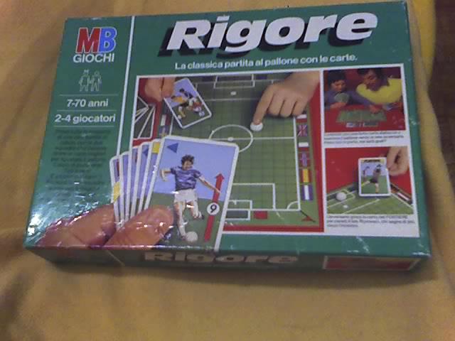 Rigore - gioco da tavolo 02-12-14