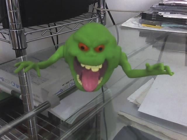 Slimer serie Ghostbusters 08-04-10
