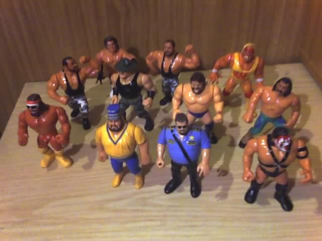 Lotto action figure wrestling 14-11-21